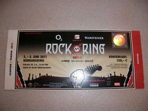 Wunderbares Rock Am Ring Hardcover Ticket 2011 Zu Verkaufen