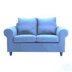Sofa IKEA FOTHULT BLAU wie neu - Polster, Sessel, Couch