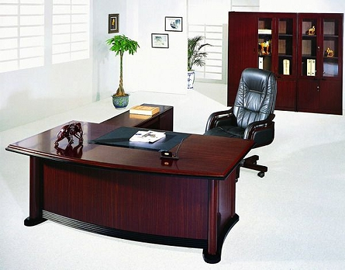 sehr edler schreibtisch 3tlg f r jedes exklusive b ro. Black Bedroom Furniture Sets. Home Design Ideas