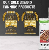Gold Award Healthy Food Drink Essen Trinken Diätprodukte